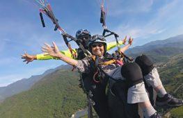 Как тайванька в 93 года летала на параплане