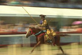 Японские самураи-ковбои удивили москвичей