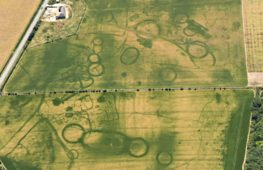 Жаркое лето обнажило на полях в Англии следы древних поселений