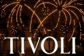 Датский парк «Тиволи» фейерверком отметил 175-летний юбилей