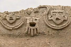 В Перу нашли 3800-летний барельеф, принадлежащий культуре норте-чико