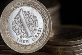 Курс турецкой лиры упал после понижения рейтингов Турции