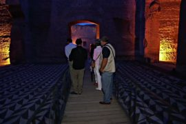 Термы Каракаллы в Риме открывают для туристов по ночам