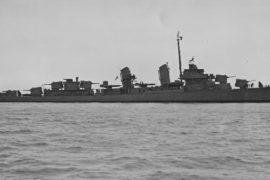 Корму американского эсминца нашли в Беринговом море через 75 лет