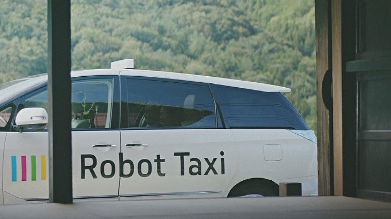 Робота-такси тестируют в Токио в преддверии Олимпиады-2020