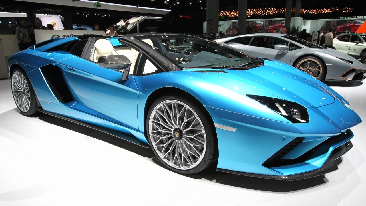 Самый быстрый Lamborghini Aventador SVJ показали на автошоу в Калифорнии