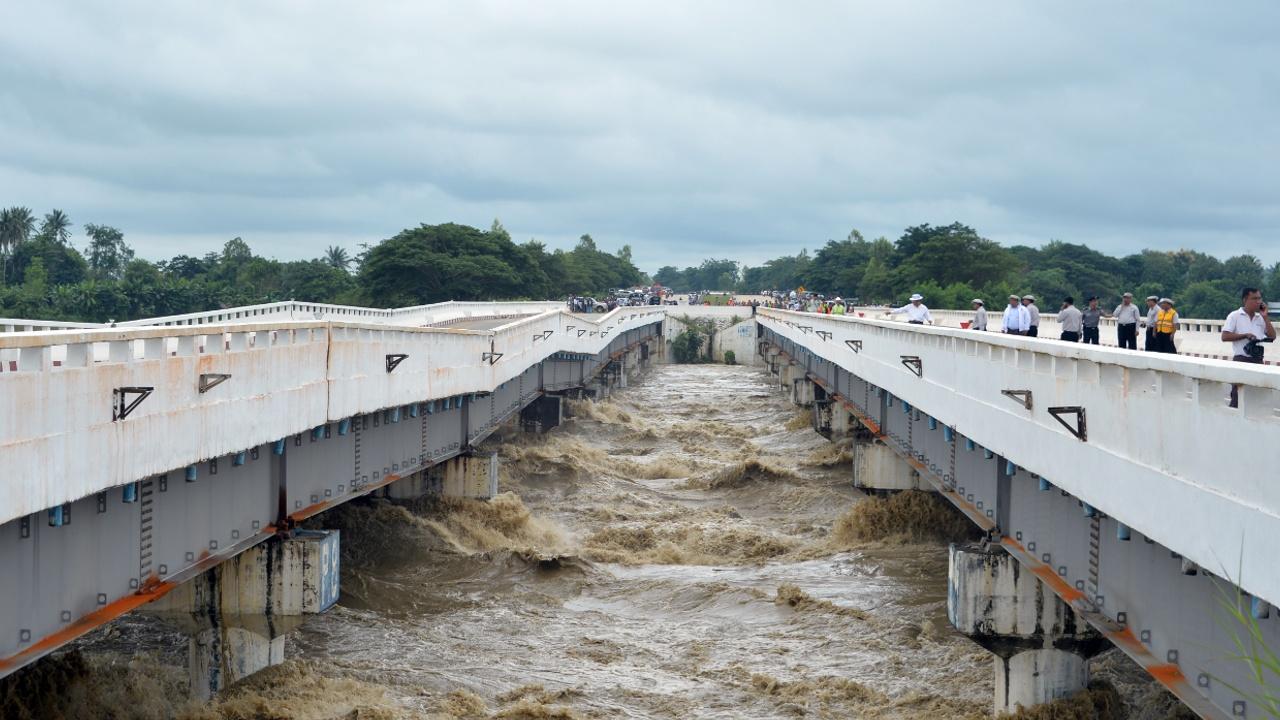 В Мьянме прорвало плотину, более 50 000 жителей эвакуировались