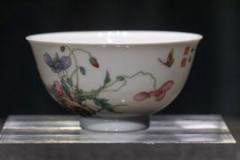 Редчайшую фаланьцайскую чашу династии Цин выставят на торги в Гонконге