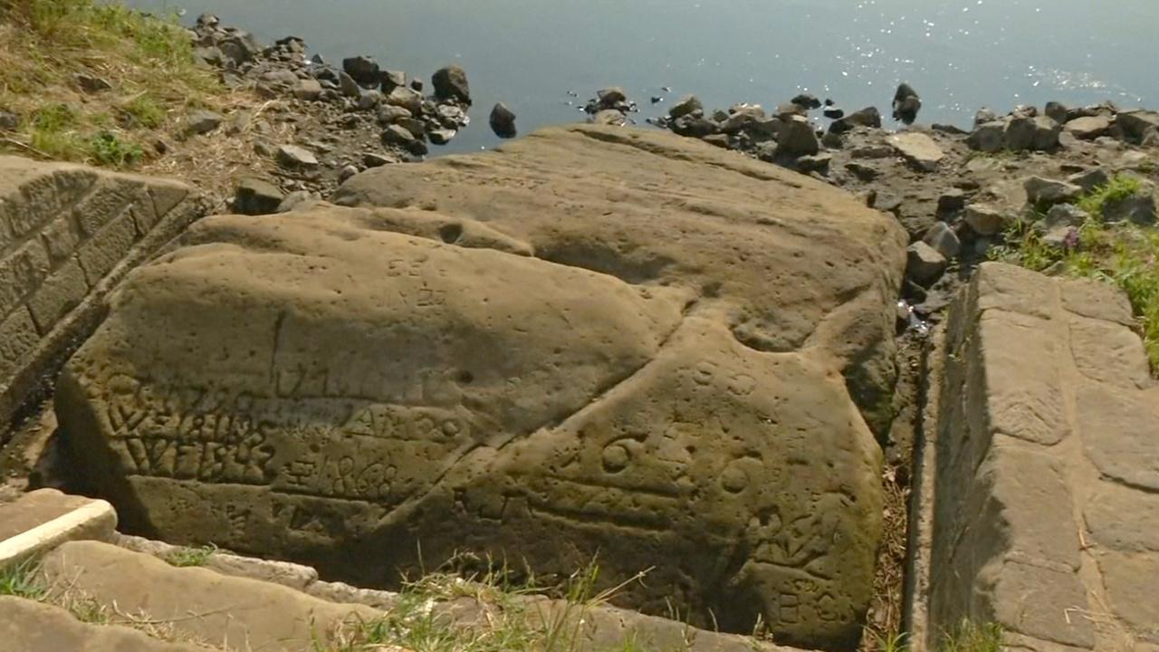 «Голодные камни» обнажились в русле Эльбы из-за засухи