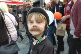 На конкурсе брадобреев в Швеции победил настоящий джентльмен