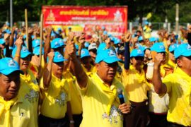 Тайский король обзавёлся четырёхмиллионной армией волонтёров