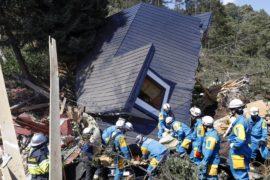 Число жертв землетрясения в Японии возросло до 16