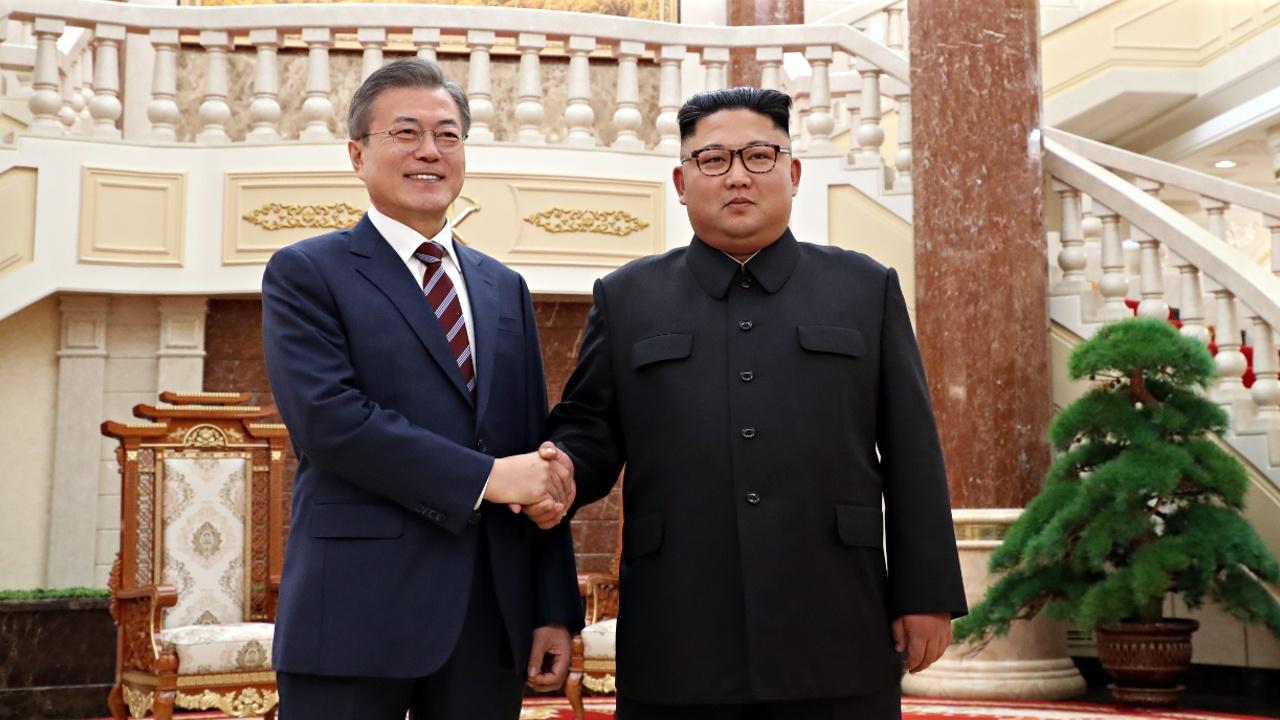 В Пхеньяне проходит саммит глав Южной и Северной Кореи