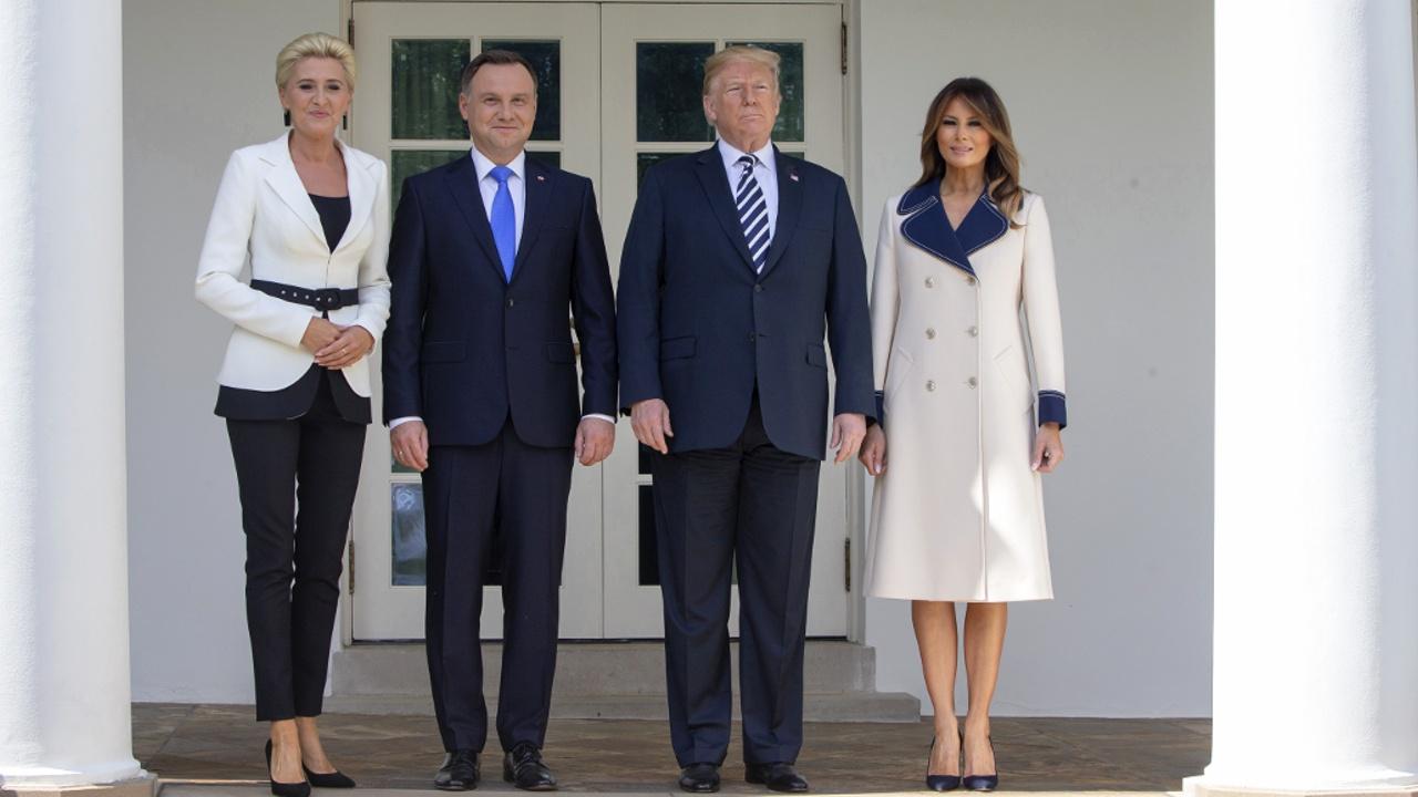 Президент Польши посетил Белый дом