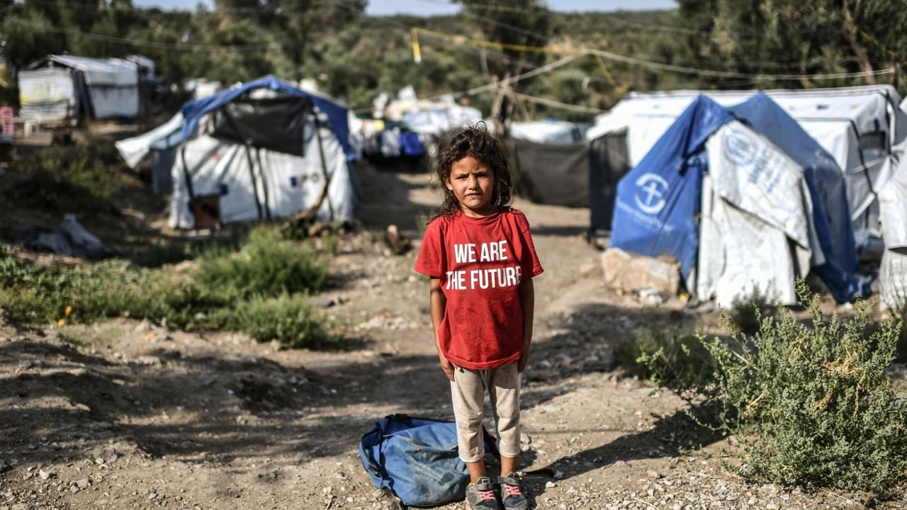 Беженец из лагеря «Мориа»: «Ситуация — хуже некуда»