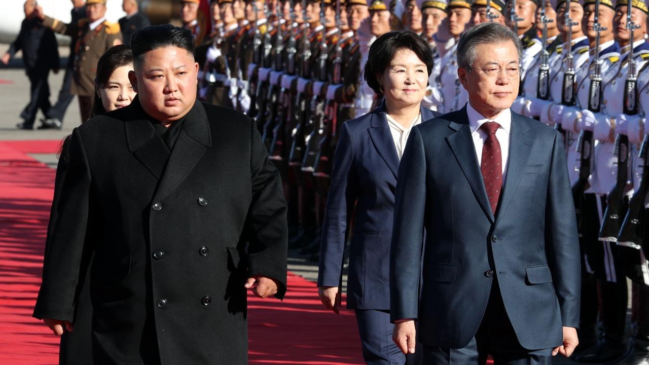 Лидеры Южной Кореи и КНДР договорились о Корейском полуострове без ядерного оружия