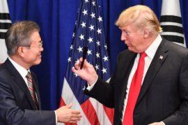 Дональд Трамп назвал великой новую торговую сделку с Южной Кореей