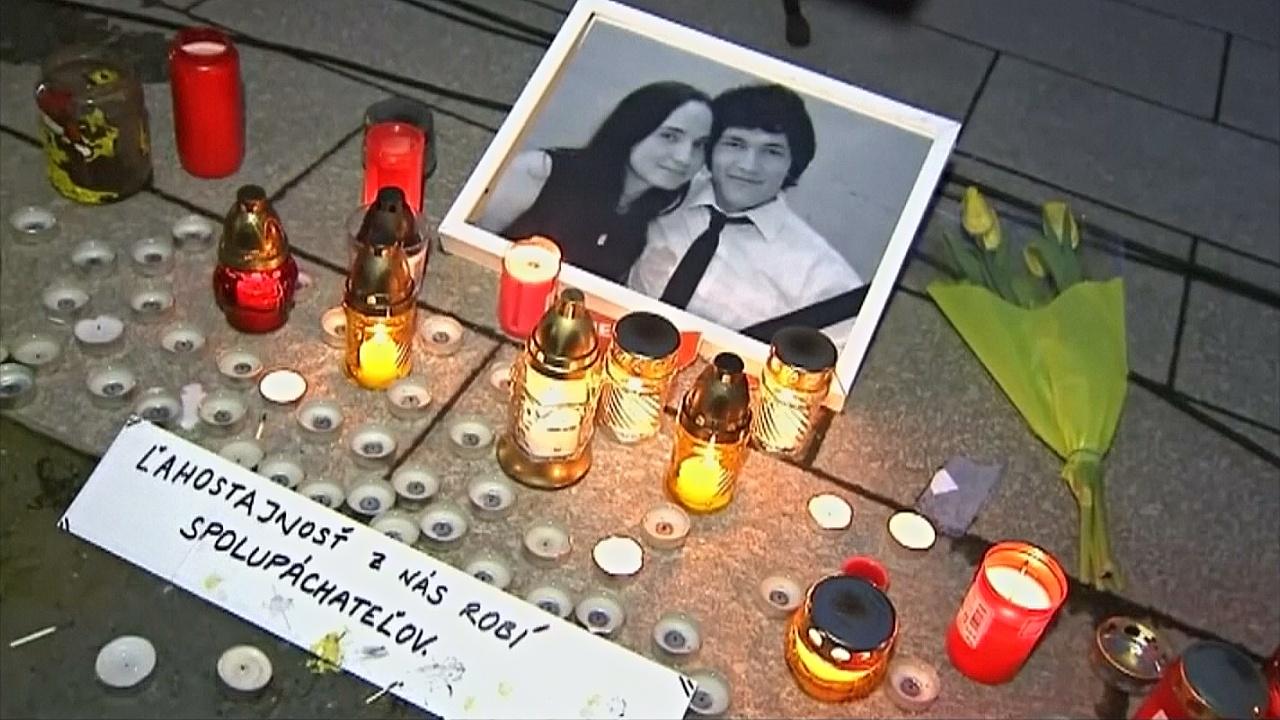 В Словакии задержали людей, подозреваемых в громком убийстве журналиста и его невесты