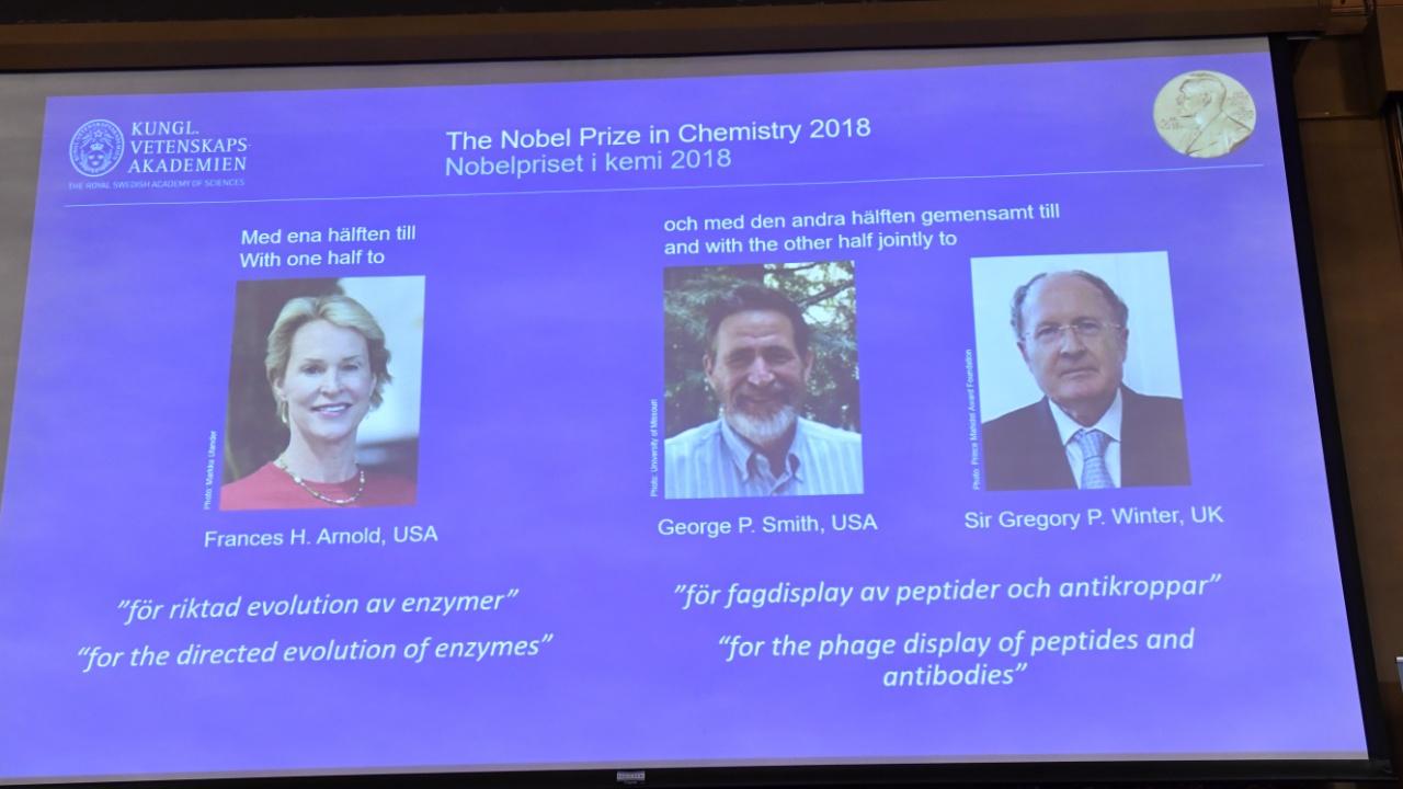 За что вручат Нобелевскую премию по химии 2018