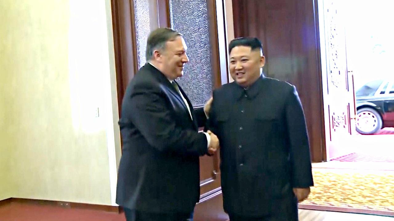Госсекретарь США встретился с Ким Чен Ыном