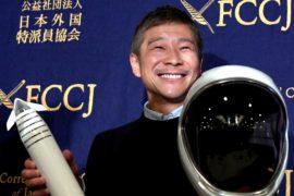 Кто полетит к Луне с японским миллиардером Юсаку Маэдзавой