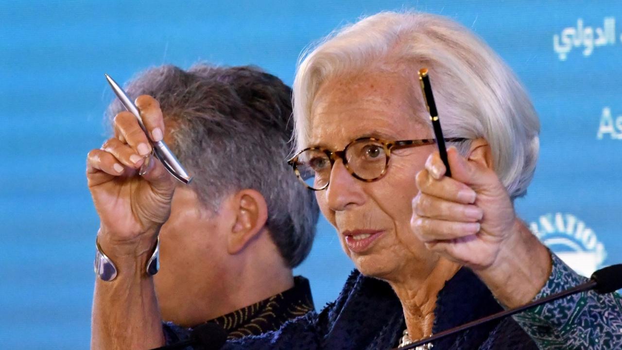 Кристин Лагард предупредила об опасности торговых и валютных войн