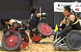 Японские игроки в регби на колясках призывают полюбить этот спорт