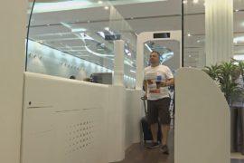 В аэропорту Дубая паспортный контроль проводит «умный тоннель»