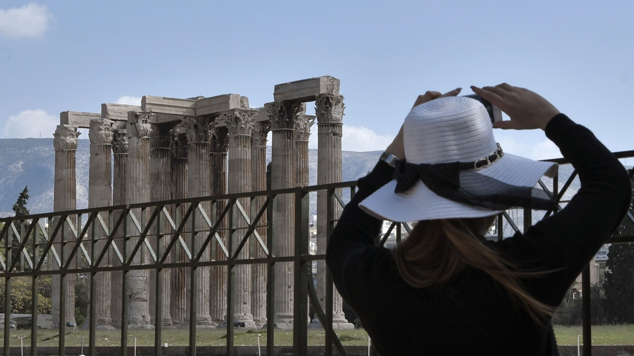 Афинский Акрополь закрылся из-за протеста
