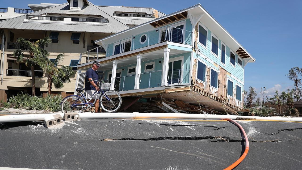 Ураган «Майкл» обрушился на США: семеро погибших