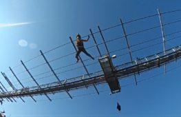 Фестиваль бейсджампинга в Сочи: прыжки с 200-метровой высоты