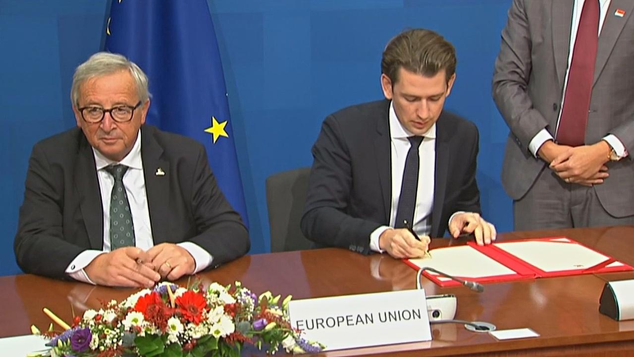 ЕС и Сингапур подписали соглашение о зоне свободной торговли
