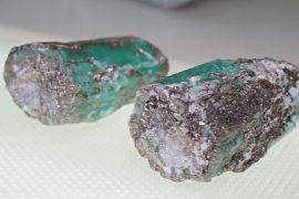 Уникальные изумруды-близнецы нашли в шахте на Урале