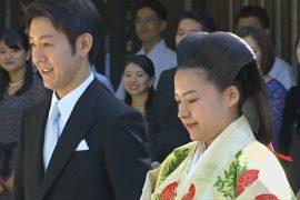Японская принцесса Аяко вышла замуж и потеряла статус принцессы