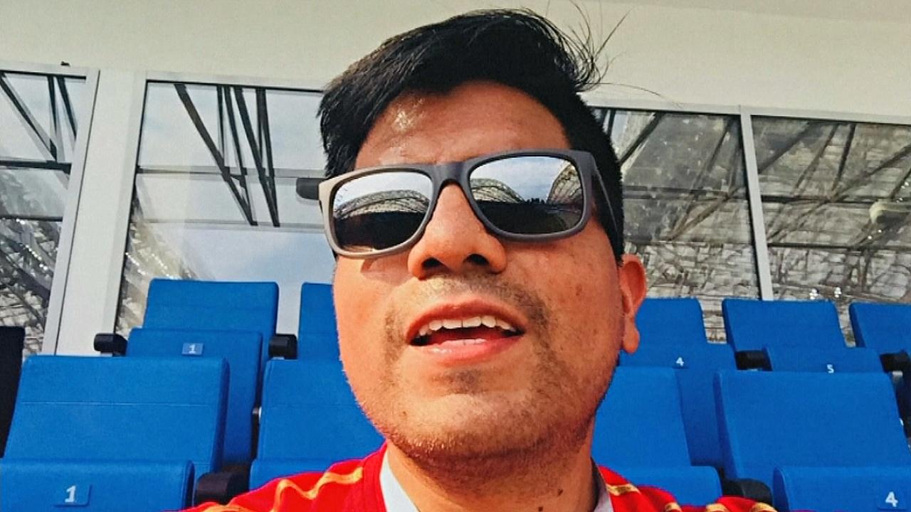 Перуанский болельщик после ЧМ-2018 решил остаться в Екатеринбурге