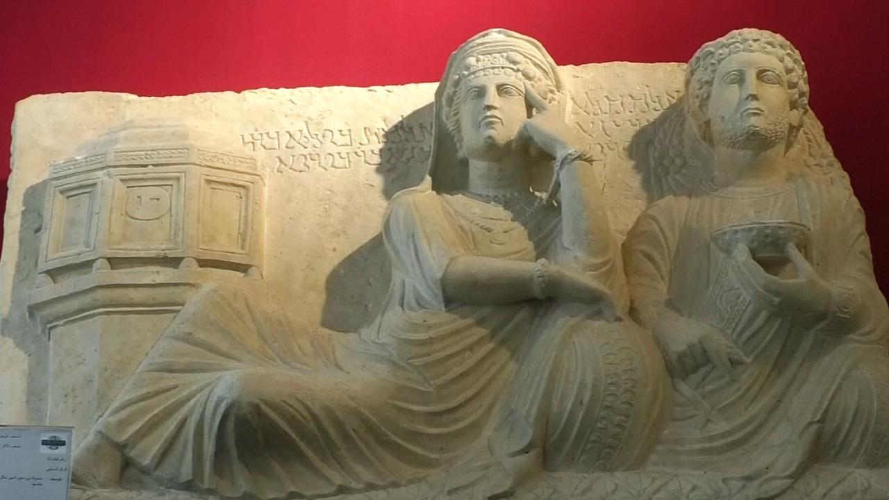 Национальный музей Дамаска открылся впервые после начала войны
