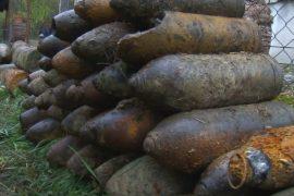 50 тонн снарядов и бомб Первой мировой ежегодно находят во Франции