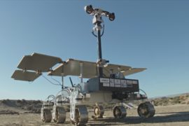 Марсоход «Экзомарс» бороздит испанскую пустыню Табернас