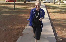 Мэру австралийского города Кобар – почти 90, и на покой она не собирается