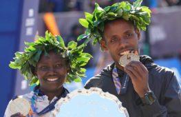 В Нью-Йоркском марафоне победили эфиоп и кенийка