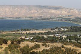 Израиль хочет восстановить уровень озера Кинерет