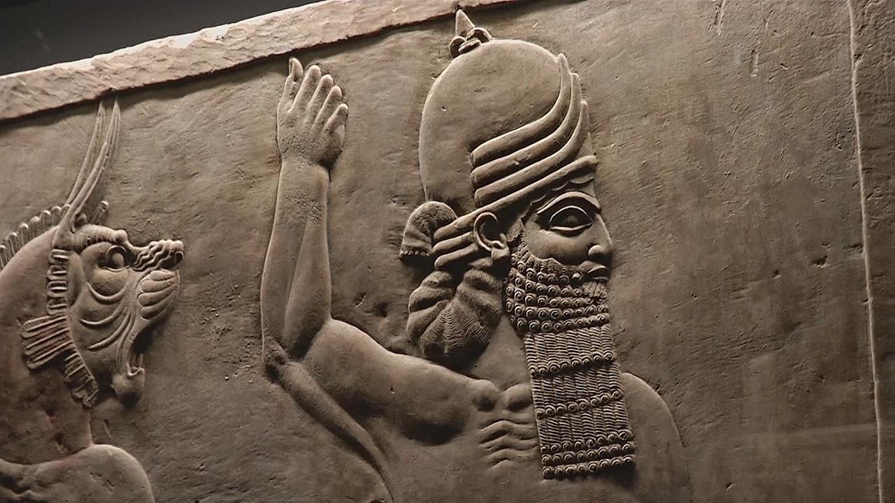Выставка проливает свет на малоизвестного, но могущественного ассирийского царя
