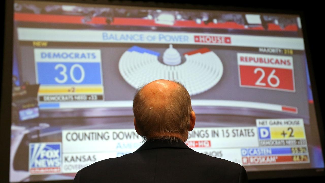 Республиканцы США укрепили позиции в Сенате, но потеряли Палату представителей