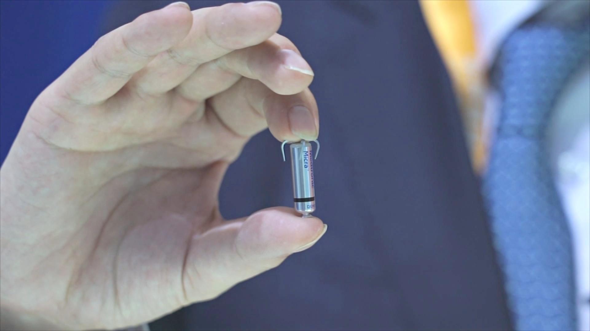 Как выглядит самый маленький кардиостимулятор в мире