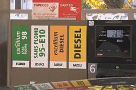 Французы недовольны ростом цен на бензин