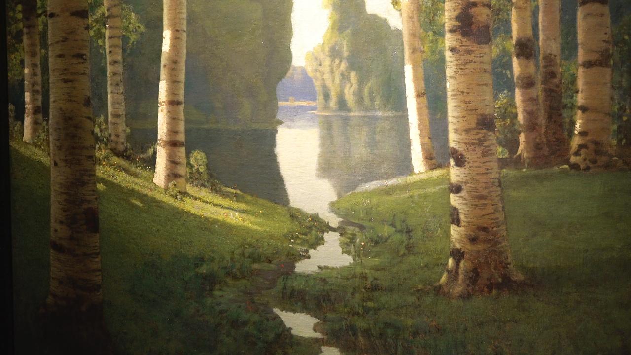 Выставка картин Куинджи проходит в Третьяковской галерее