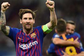 Лионель Месси стал лучшим бомбардиром «Ла Лиги» прошлого сезона
