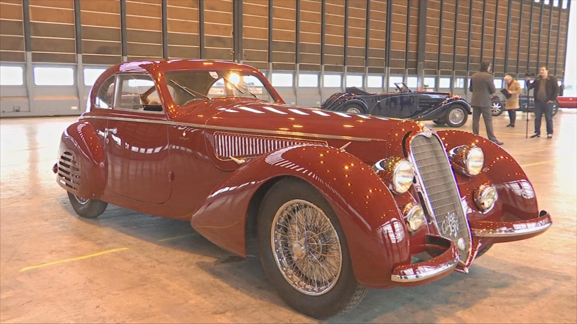Редкий Alfa Romeo могут продать за 22 млн евро на аукционе в Париже