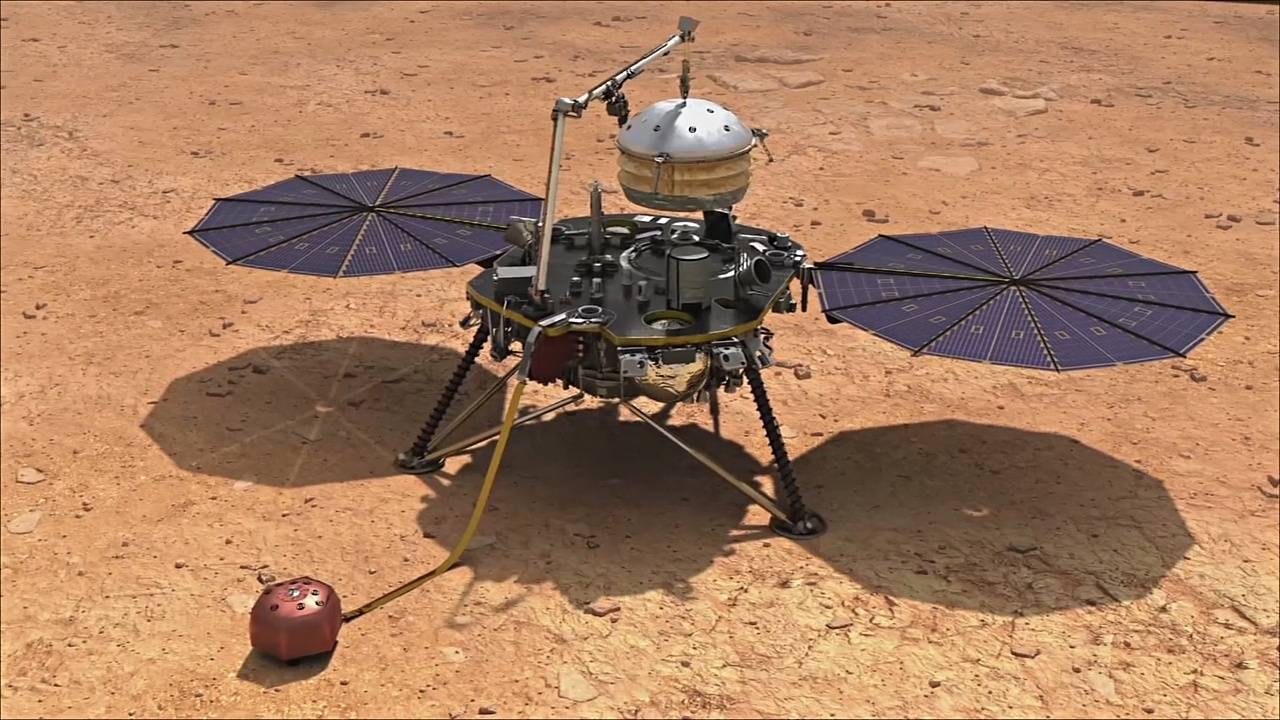 Зонд НАСА InSight успешно сел на Марс