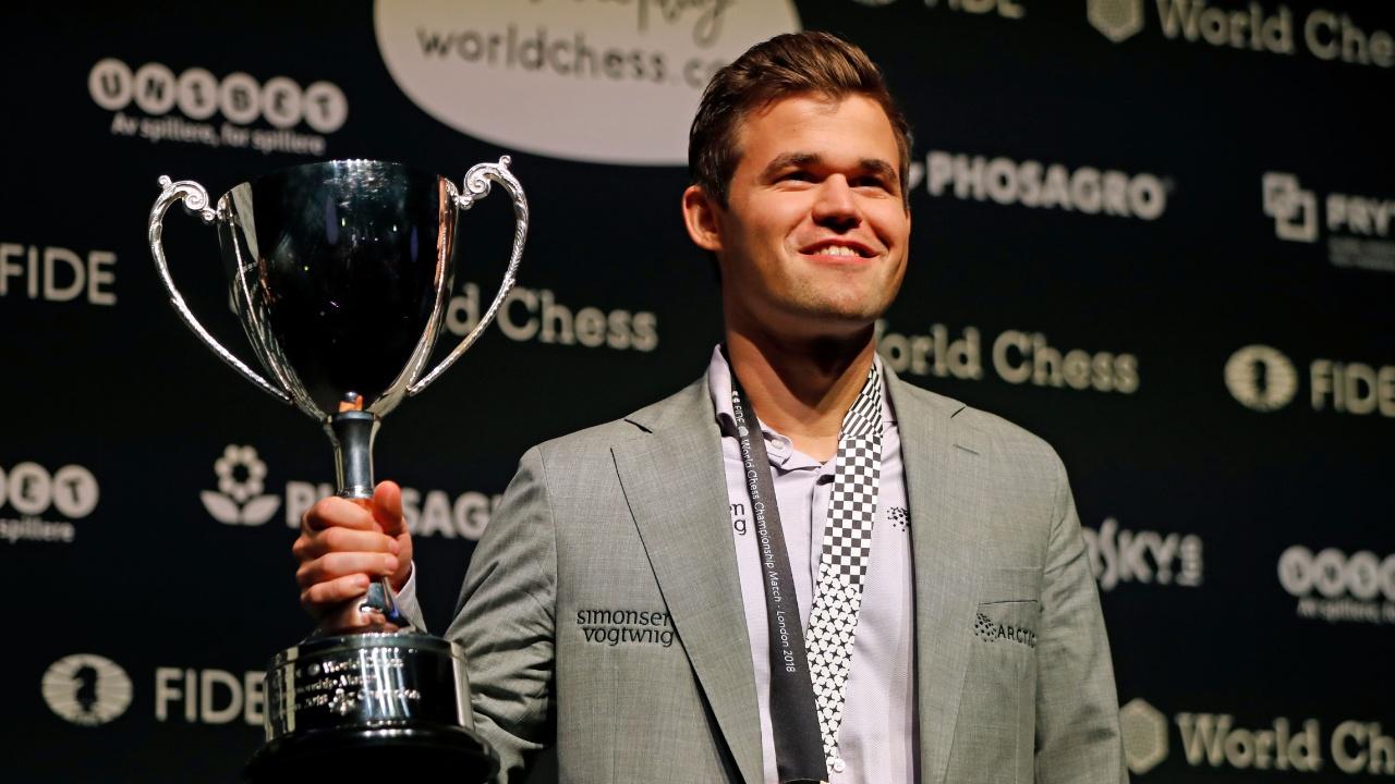 Чемпионом мира по шахматам снова стал Магнус Карлсен